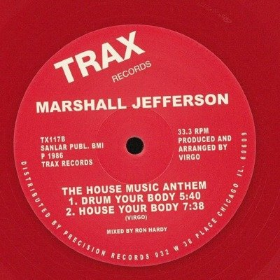 The House Music Anthem (Red Vinyl Repress)