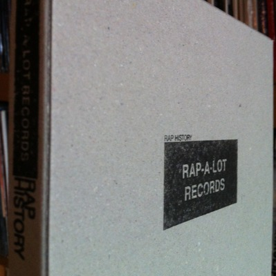 The Labels #2 Rap-A-Lot Records (mixed by Mentalcut) Box Set
