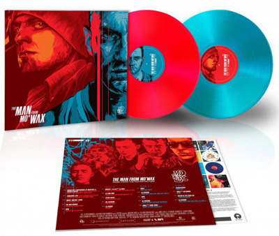The Man From Mo' Wax (Music From The Motion Picture) gatefold red & blue vinyl