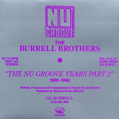 The Nu Groove Years Part 2 1988-1992