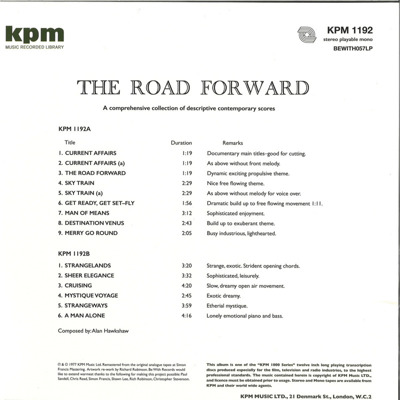 The Road Forward (180g)