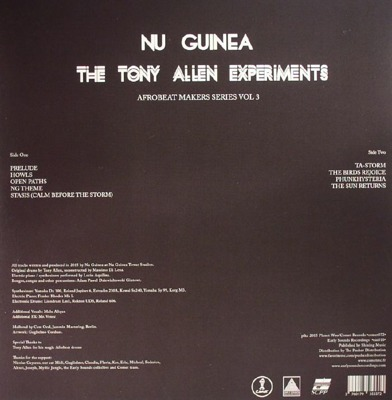 The Tony Allen Experiments (Afrobeat Makers Series Vol. 3)