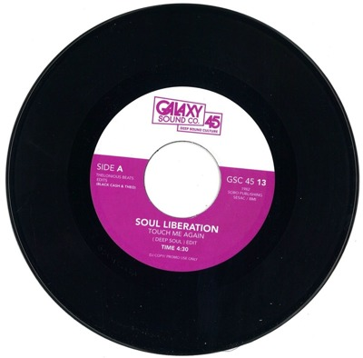 Touch Me Again (Deep Soul) / L.A. Nights (Kadena Instrumental)
