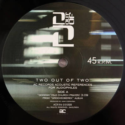 Two Out Of Two: Acoustic References For Audiophiles (Record Store Day 2020)