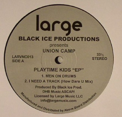 Union Camp - Playtime Kids EP