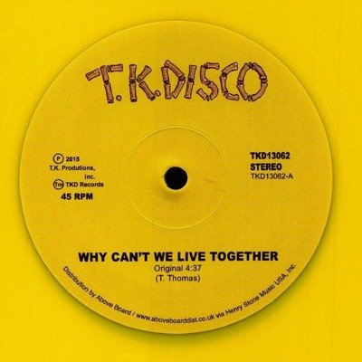 Why Can't We Live Together (Yellow Vinyl Repress)
